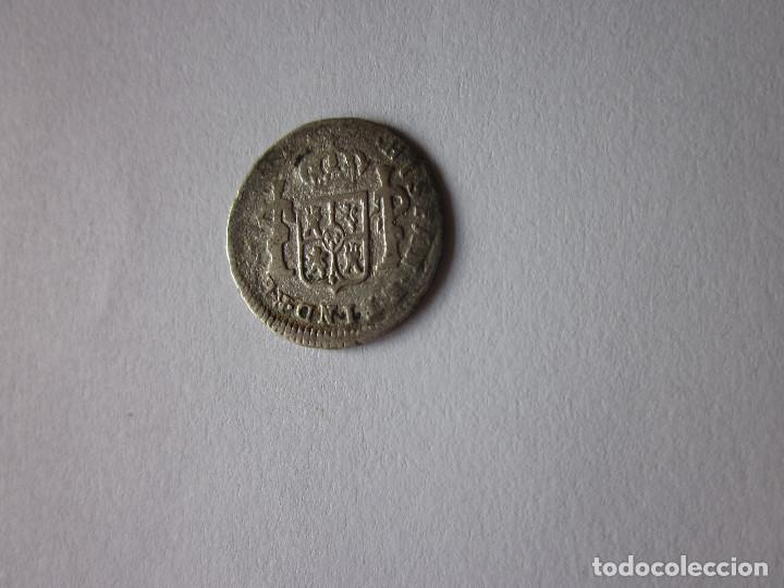 Monedas de España: Medio Real de Carlos III. 1783. México TH. - Foto 2 - 189688236