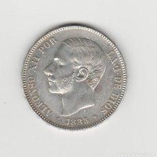 Monedas de España: ALFONSO XII- 5 PESETAS- 1885*18-85- SC. Lote 189927267