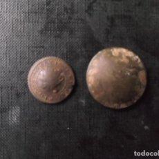 Monedas de España: 2 MONEDAS RECUÑADAS DE 4 Y 2 MARAVEDIS FELIPE V MUY RARAS. Lote 189941918