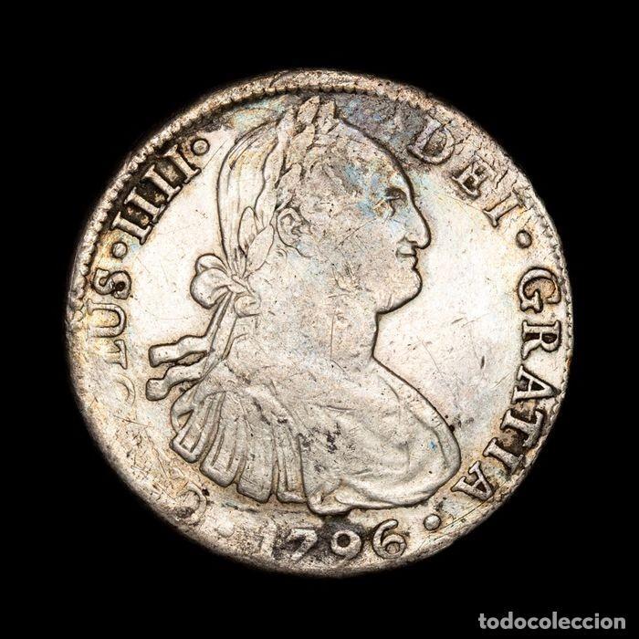 ESPAÑA - 8 REALES - CARLOS IV (1788 - 1808) PLATA (Numismática - España Modernas y Contemporáneas - De Reyes Católicos (1.474) a Fernando VII (1.833))