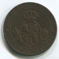 Monedas de España: ISABEL II 1867. 5 CENTIMOS DE ESCUDO. BARCELONA.. Lote 190752393