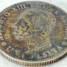 Monedas de España: RÉPLICA MONEDA 1927. PRUEBA DE CUÑO. 1 PESETA. REY ALFONSO XIII, ESPAÑA. MUY RARA.. Lote 191352971