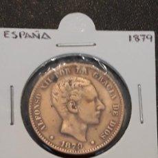 Monedas de España: 10 CÉNTIMOS 1879. Lote 191611935
