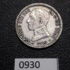 Monedas de España: 50 CÉNTIMOS 1910 ESTRELLA 1-0. Lote 191613293