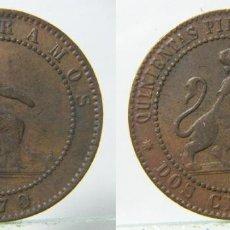 Monedas de España: MONEDA DE 2 CENTIMOS 1870. Lote 191755823