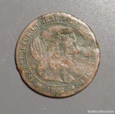 Monedas de España: 1/2 CÉNTIMO DE ESCUDO 1866 BARCELONA - ÉPOCA ISABEL II. Lote 191845312