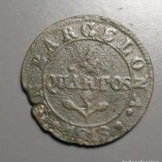 Monedas de España: 4 QUARTOS BARCELONA 1813 - ÉPOCA JOSÉ NAPOLEÓN. Lote 191845486