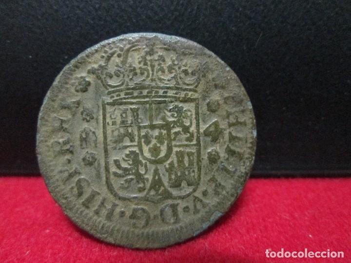 4 MARAVEDIS FELIPE V CECA SEGOVIA (Numismática - España Modernas y Contemporáneas - De Reyes Católicos (1.474) a Fernando VII (1.833))