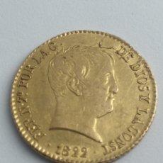 Monedas de España: FERNANDO VII MADRID 1822. 80 REALES ORO. Lote 192105137