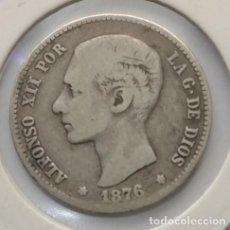 Monedas de España: 1 PTS 1876 PLATA MUY BUEN ESTADO #25. Lote 192233118