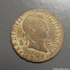 Monedas de España: 2 MARAVEDÍS SEGOVIA 1831 - ÉPOCA FERNANDO VII. Lote 192255597