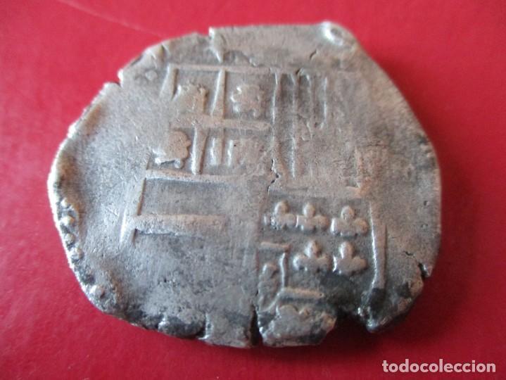 FELIPE IV 8 REALES MACUQUINA. #MN (Numismática - España Modernas y Contemporáneas - De Reyes Católicos (1.474) a Fernando VII (1.833))