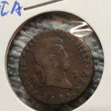 Monedas de España: FERNANDO VII 2 MARAVEDIS 1829 SEGOVIA. Lote 193370365