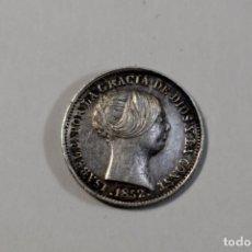 Monedas de España: 1 REAL DE PLATA DE ISABEL II BARCELONA 1852.CASI SIN CIRCULAR. Lote 194010705