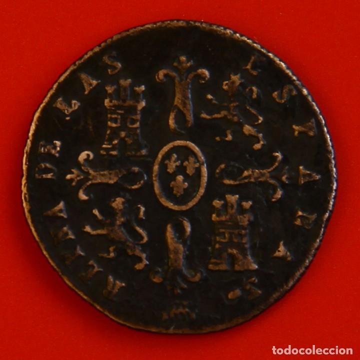 Monedas de España: Isabel II: 2 Maravedís de 1850 de Segovia MBC - Foto 2 - 194074881