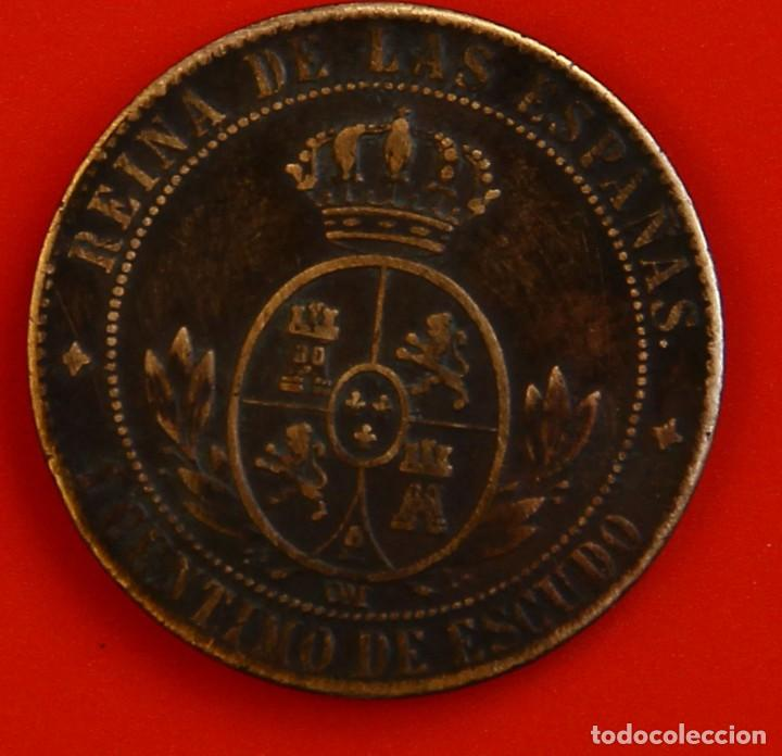 Monedas de España: Isabel II: 1 Cto. de Escudo de 1867 de Jubia. MBC - Foto 2 - 194076536