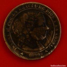 Monedas de España: ISABEL II: 1 CTO. DE ESCUDO DE 1868 DE SEGOVIA. MBC. Lote 194077061