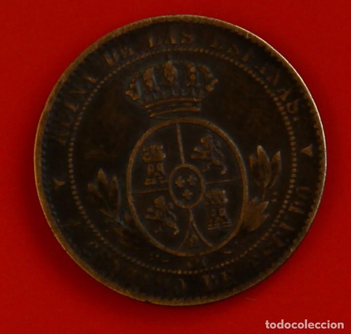 Monedas de España: Isabel II: 1 Cto. de Escudo de 1868 de Segovia. MBC - Foto 2 - 194077061