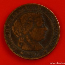 Monedas de España: ISABEL II: CTO. DE ESCUDO DE 1868 DE BARCELONA. MBC. Lote 194077281