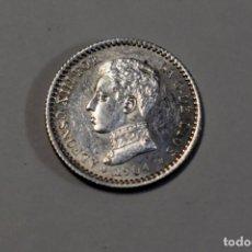 Monedas de España: 50 CENTIMOS DE PLATA DE ESPAÑA ALFONSO XIII DE 1904-04.SM-V.SIN CIRCULAR. Lote 194084593