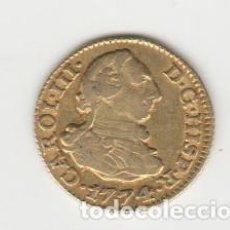 Monedas de España: CARLOS III- 1/2 ESCUDO- 1774-MADRID-PJ. Lote 194153330