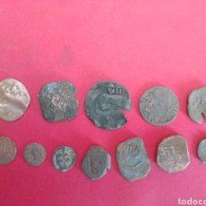 Monedas de España: LOTE DE 12 MONEDAS DEL PERIODO DE LOS AUSTRIAS.. Lote 194186965