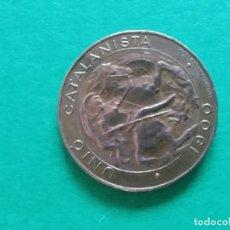 Monedas de España: UNIÒ CATALANISTA ANY 1900. Lote 194198976