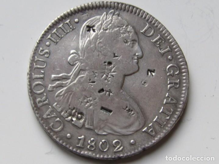 8 REALES DE PLATA . 1802 . CARLOS IIII (Numismática - España Modernas y Contemporáneas - De Reyes Católicos (1.474) a Fernando VII (1.833))