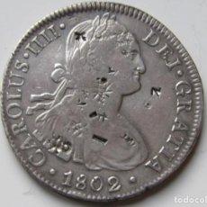 Monedas de España: 8 REALES DE PLATA . 1802 . CARLOS IIII . Lote 194217358