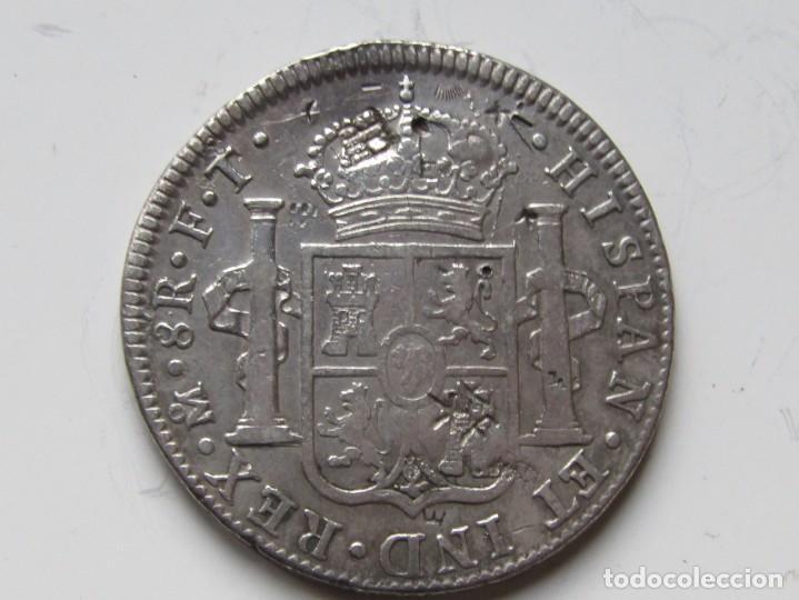 Monedas de España: 8 REALES DE PLATA . 1802 . CARLOS IIII - Foto 2 - 194217358