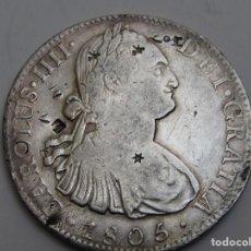 Monedas de España: 8 REALES DE PLATA . 1805 . CARLOS IIII . Lote 194217740