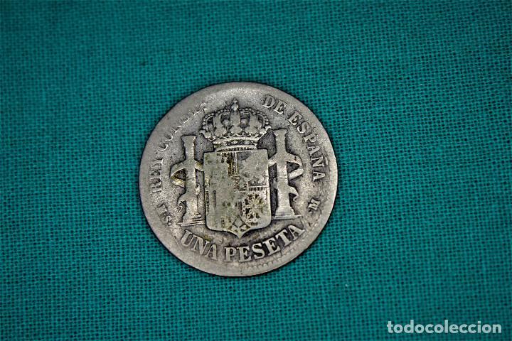 Monedas de España: España 1 Pesetas Alfonso XII 1885 Estrellas X-X MS M 3082 - Foto 2 - 194241756