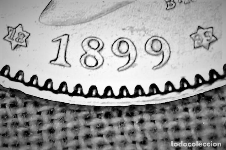 Monedas de España: España 1 Pesetas Alfonso XIII 1899 Estrellas 18-99 SG V 3078 - Foto 2 - 194242696