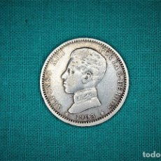 Monedas de España: ESPAÑA 1 PESETAS ALFONSO XIII 1903 ESTRELLAS 19-03 SM V 3077. Lote 194242912