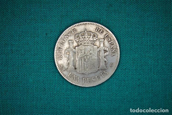 Monedas de España: España 1 Pesetas Alfonso XIII 1903 Estrellas 19-03 SM V 3077 - Foto 2 - 194242912