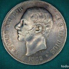 Monedas de España: ESPAÑA 5 PESETAS ALFONSO XII 1882 ESTRELLAS 18-82 MS M 3097. Lote 194243583