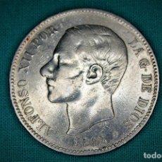 Monedas de España: ESPAÑA 5 PESETAS ALFONSO XII VARIANTE 1882-SOBRE 1 ESTRELLAS 18-81 MS M 3087. Lote 194243916