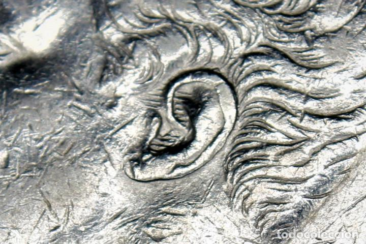 Monedas de España: España 5 Pesetas Alfonso XII Variante Oreja Rallada 1875 Estrellas 18-75 DE M 3085 - Foto 3 - 194244186
