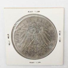 Monedas de España: 5 MARCOS DE PLATA DE 1900 E. REY ALBERTO DE SACHS. ALEMANIA KM. Lote 194266475