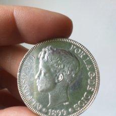 Monedas de España: 5 PESETAS ALFONSO XIII . 1899 . SG.V . ☆99. EXCELENTE ESTADO .. Lote 194282767