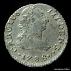 Monedas de España: CARLOS III, 1/2 REAL DE PLATA DE SEVILLA 1788 - 12 MM / 1.48 GR.. Lote 194307460