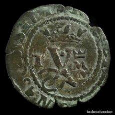 Monedas de España: REYES CATÓLICOS, BLANCA DE TOLEDO (CORONA SOBRE LA M) - 16 MM / 0.87 GR.. Lote 194308055