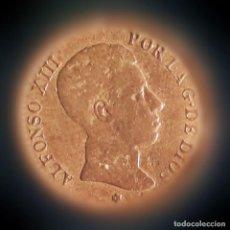 Monedas de España: ALF.XIII 1904 2CNT.. Lote 194331276