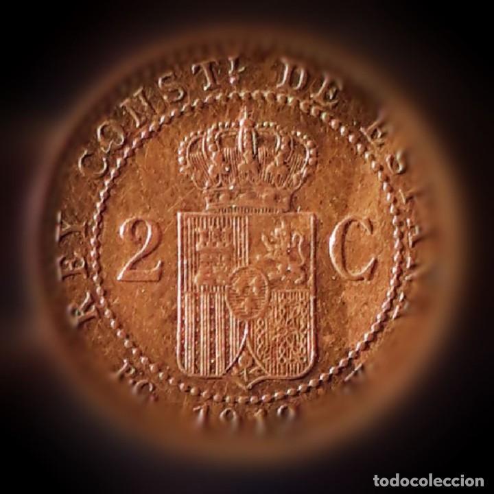 Monedas de España: alf XIII 1912 2cnt. - Foto 2 - 194332581