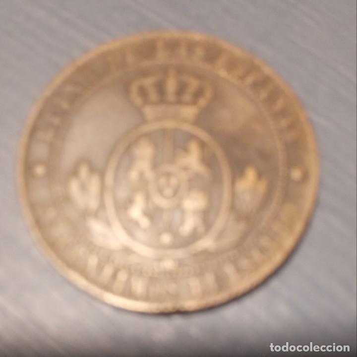 Monedas de España: Moneda 2 1/2 céntimos de escudo. 1868 - Foto 2 - 194334065
