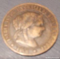 Monedas de España: MONEDA 2 1/2 CÉNTIMOS DE ESCUDO. 1868. Lote 194334065