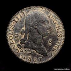 Monedas de España: ESPAÑA - CARLOS IV, 8 MARAVEDIS DE COBRE, SEGOVIA, 1807.. Lote 194340408