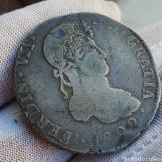 Monedas de España: 8 REALES 1822 DURANGO .ACUÑACIÓN EN ANTERIORES COSPELES Y VARIANTE A EN VEZ DE V EN DOMINAL DEL REY. Lote 194347808