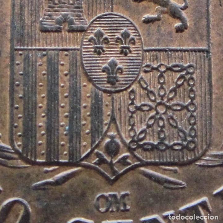 Monedas de España: 5 CÉNTIMOS 1878. ALFONSO XII. SIN CIRCULAR. RESTOS DE BRILLO ORIGINAL - Foto 7 - 194351322