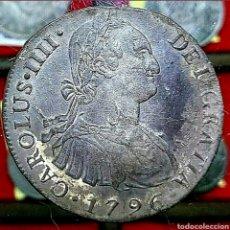 Monedas de España: ESPAÑA/ CARLOS IIII 1796/ 8 REAL/ LIMA -IJ-. Lote 194359297
